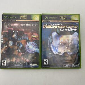 MechAssault 1 & 2 Lot Bundle (Xbox, 2002).