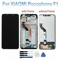 LCD Display Digitalizador Táctil Con/Sin Marco Para XIAOMI Pocophone F1 Negro