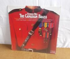 THE CANADIAN BRASS : GREATEST HITS - LP USA 1983 SEALED - Classical / military