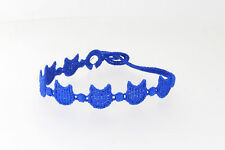 Genuine Italian Made Cruciani Bracelets!!!-DEVIL-Royal blue