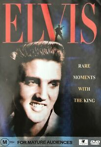 Elvis : Rare Moments With The King. DVD New