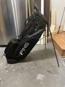 PING HOOFER 14 WAY DIVIDER Stand Bag Black
