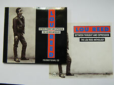 Lou Reed Between Thought And Expression Digipack CD 1992 PROMO