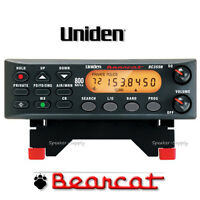 Uniden Bearcat 300 Channel Police Scanner 800 MHz Base Mobile Car Home BC355N