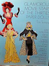 Tom Tierney Papier Poupées Glamorous Film Stars De The Thirties