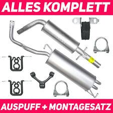 Schalldämpferset Auspuffanlage Auspuff VW Golf 4 IV 97-04 1.6 Schrägheck