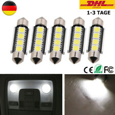 5x LED Canbus Soffitte 42mm 3 5050 SMD weiß Innenraum Soffite Beleuchtung