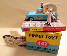 Corgi Toys, 447 Ford Thames Wall's Ice Cream Van,    original