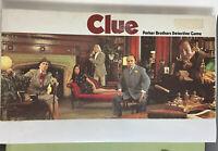 Clue 1972 Detective Board Game Parker Brothers Classic 100% Complete Vintage Vtg