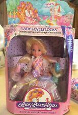 NIB LADY LOVELYLOCKS LOVELY LOCKS DOLL MATTEL 1986