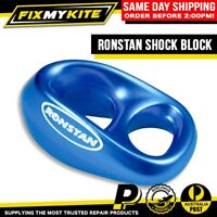 RONSTAN SHOCK BLUE SHEAVELESS BLOCK SAIL COVER ZIPPER LINE KITEBOARD KITE BRIDLE
