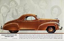 Print.  Brown 1938 Graham Supercharger Combination Coupe Auto Ad