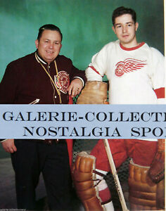 GLENN HALL DETROIT RED WING GOALIE NOSTALGIA HOCKEY PRINT PHOTO GH2