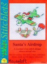 Stitchlets X Stitch KIT, Santa's lancio (senza carta)