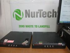 Lot of 2 Avocent Switchview  Cybex DVI/USB KVM W/Audio P/N: 520-456-508 SC4