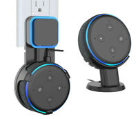 2X Holder Mounts - Pedestal Stand Wall Mount For Amazon Echo Dot 3rd Generation