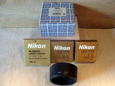 "Nikon - Set (5tlg) Nikon verschiedene Gegenlichtblenden/Hood ""Boxed "" - TOP!"