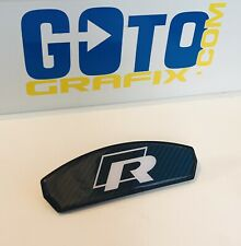 Vw Golf r Mk7 Gti  Carbon Fibre Brake Pad Overlays