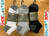 Timberland Men's Essential No Show Basic Socks (3-Pack) A1EBE