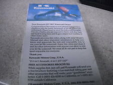 The Good The Bad & The Jet Ski Watercraft Kawasaki VHS tape 99933-5501