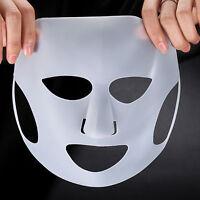 Daiso Silicone Sheet Mask Cover Holder Face Steam REUSABLE Prevents Evaporation