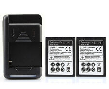 2x 1500mah BL-4D battery + charger for Nokia N97 Mini N8 N8-00 E5 E5-00 E7 E7-00