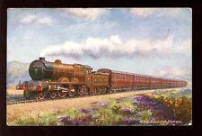 Railway NBR Edinburgh Express Tuck Oilette early  1912 PPC