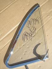 RH & LH  Vent Window, No Draught Ventilator Triplex Clear Jaguar MKVIII, MKIX