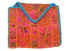 antike afghan Nomaden gestickte Geldbeutel beutel bag Portemonnaie Geldbörse N24