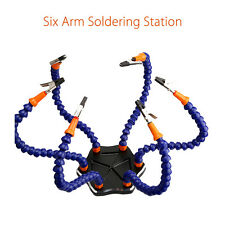 6-Arm Helping Hands Soldering Welding Tool Workstation Component for FPV Racing