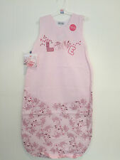 New Sucre d'Orge Pink Summer Sleeveless Sleeping Bag 6 -36 Months TOG 0.5