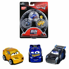 Disney Cars 3 Mini Racers Metallic Cruz Jackson Storm Fabulous McQueen Toy New