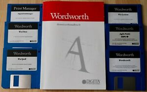 Wordworth Benutzerhandbuch von DIGITA mit 6 Disketten