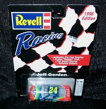 1996 NASCAR Revell Racing JEFF GORDON #24 (Factory Sealed; 1/64 Die Cast)