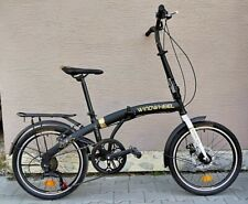 Folding Bike Bicycle Disk 6 Gear Carrier 20' Alloy Unisex UK RRP£399 UK STOCK324