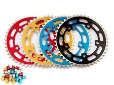 "TOPRIDER Old School BMX Chainring 44T 1/8"" 110mm BCD + 5 Bolts"