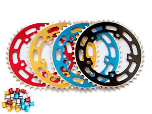 """TOPRIDER Old School BMX Chainring 44T 1/8"""" 110mm BCD + 5 Bolts"""