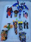 Transformers Beast Machines Lot Vehicons Blastcharge Thrust Jetstorm Strika