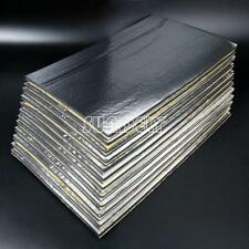 12-Pcs Heat Shield Mat Car Exhaust Muffler Insulation for hood Fiberglass Cotton