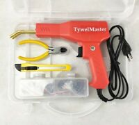 Handy Plastic Welder Machine Garage Hot Stapler Kits Car Bumper Repair Toll PVC