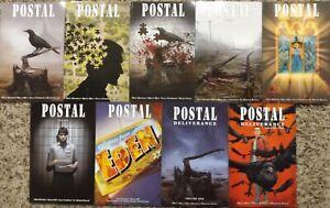 Postal graphic novel TPB #1-7 + Deliverance 1-2 - COMPLETE SET- Image High Grade
