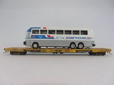 HO Scale Model Railroads - Freight Car Load - Bus