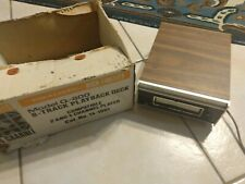 Vtg Realistic Stereo 8 Track Player 2/4 Channel Cartridge Tape Deck Model Q-800