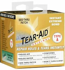 Tear Aid 5ft Roll Type A (1.52m x 15cm) Transparent Repair Patch Self Adhesive