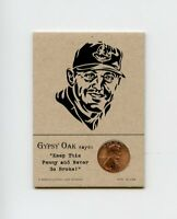 JIM THOME Indians 2002 Penny Insert NEVER GO BROKE Trade Card RARE