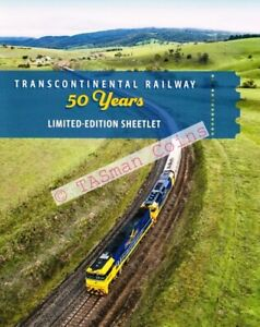 Sheetlet Stamp Pack Australia 2020 Transcontinental Railway 50 Years L/E 300