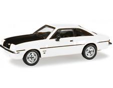 Opel Manta B White Herpa 1/87 Plastic Miniature Car HO Scale