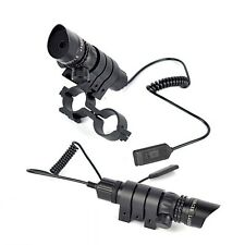 Tactical 532nm Green Dot Laser Sight Scope w/ Rail Mount; Adjustable Switch