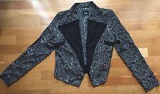 BNWT Sportsgirl black pattern jacket size 6