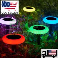 Led Solar Ring Light Waterproof beautiful easy lighting upgrade Usa shipping!